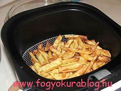 Fogyókúrás süéltkrumpli